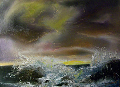 Painting - Seascape#5 by Raymond Doward