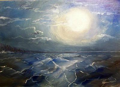 Painting - Seascape#6 by Raymond Doward