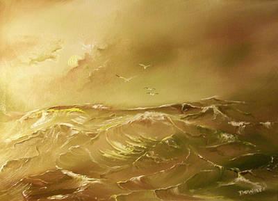 Painting - Seascape#7 by Raymond Doward