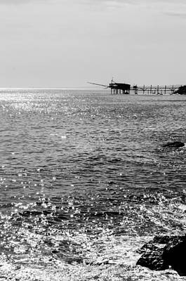 Photograph - Seascapes Of Italy - Trabocchi Coast 2 by Andrea Mazzocchetti