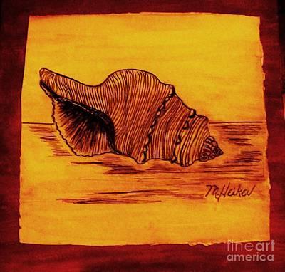 Seashell Drawing Digital Art - Seashell From Florida by Marsha Heiken