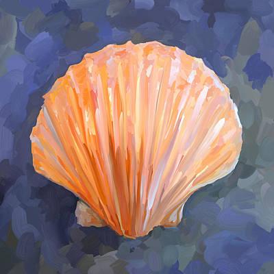 Painting - Seashell I by Jai Johnson