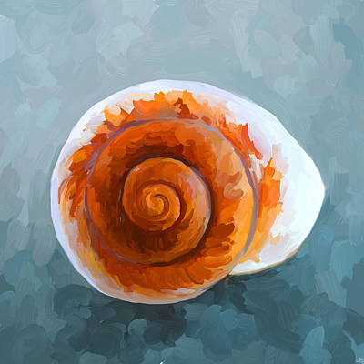 Painting - Seashell II by Jai Johnson