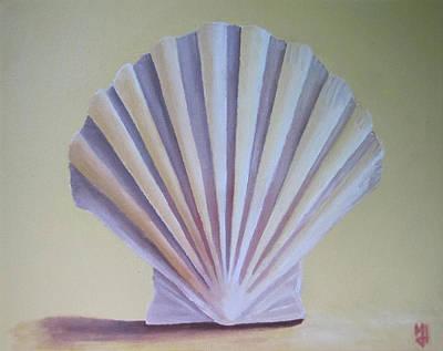 Seashell II Art Print by Michael Holmes