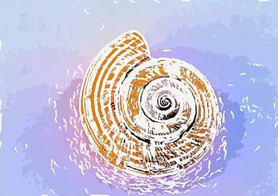 Seashell  Art Print by Lanjee Chee