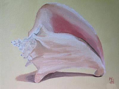 Seashell Art Print by Michael Holmes