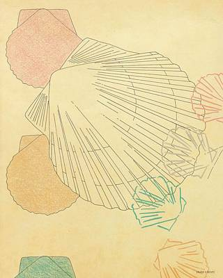 Drawing - Seashells 2 by Valerie Reeves