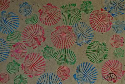 Seashells By The Seashore Art Print