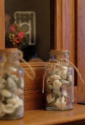 Photograph - Seashells by Jeremy Lavender Photography