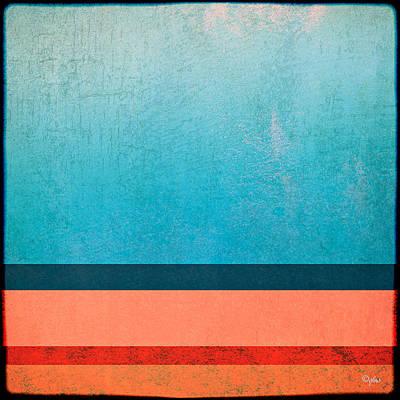 Digital Art - Seashore Abstract 4 by Paulette B Wright