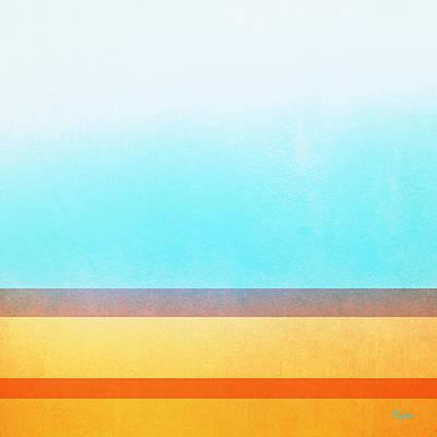 Digital Art - Seashore Abstract 6 by Paulette B Wright