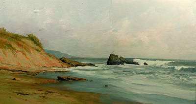 Painting - Seashore by Demetrios Vlachos