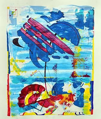 Drawing - Seashore Holiday by J R Seymour