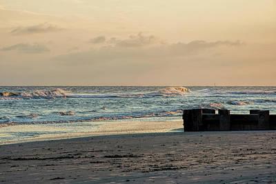 Photograph - Seaside Sunset by Ed Waldrop