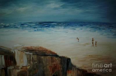 Painting - Seashore by Vivian  Mosley