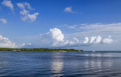 Photograph - Seaside Afternoon Clouds by Bob Slitzan
