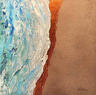 Painting - Seaside by Alan Lakin