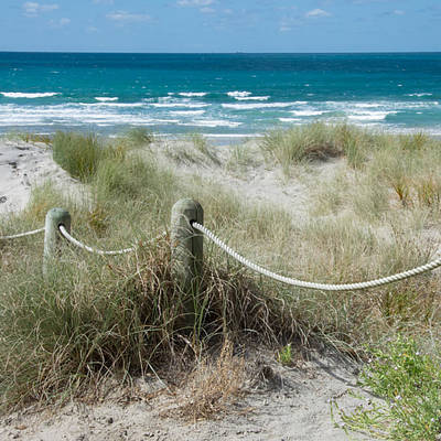 Photograph - Seaside Beach Ropes by Jocelyn Friis