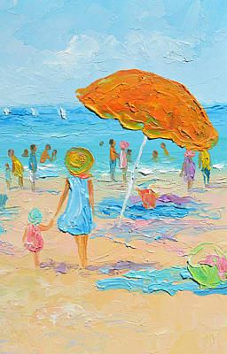Painting - Seaside Days by Jan Matson