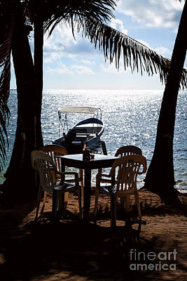 Photograph - Seaside Dining by Lawrence Burry