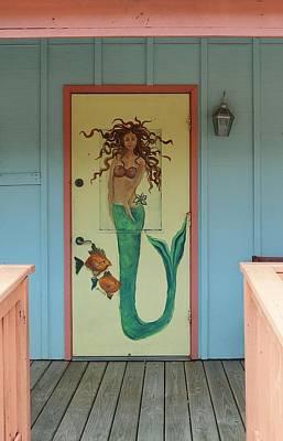 Photograph - Seaside Door by Christopher James