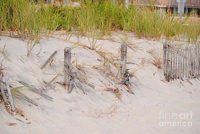 Seaside Heights Photograph - Seaside Dunes by Daniel Diaz