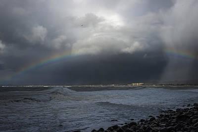 Photograph - Seaside Hail by Robert Potts
