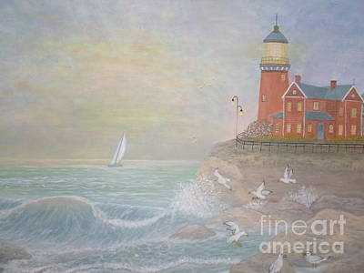Greeting Card - Seaside Harmony by Patti Lennox