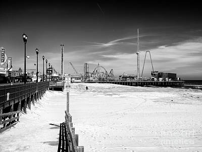 Photograph - Seaside Heights Beach View by John Rizzuto