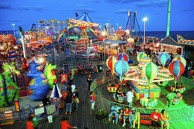 Photograph - Seaside Heights Casino Pier by James Kirkikis