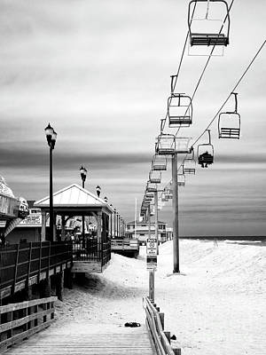 Photograph - Seaside Heights Gondola by John Rizzuto