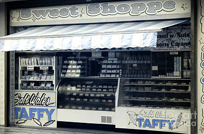 Photograph - Seaside Heights Sweet Shoppe Infrared by John Rizzuto