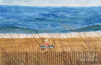 Painting - Seaside In Massachusetts by Christine Lathrop
