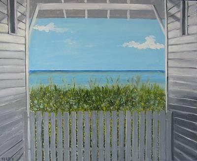 Seaside Art Print by John Terry