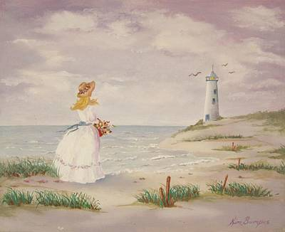 Cape Cod Painting - Seaside by Kim Lucianovic