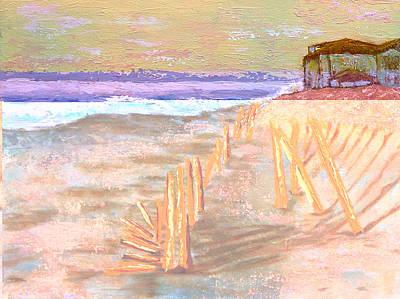 Wall Art - Painting - Seaside by Laura Gabel