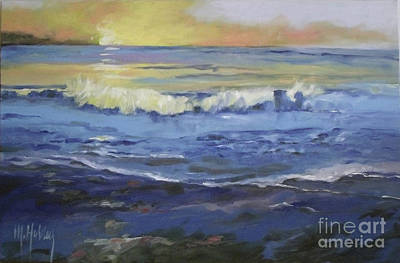 Painting - Seaside by Mary Hubley