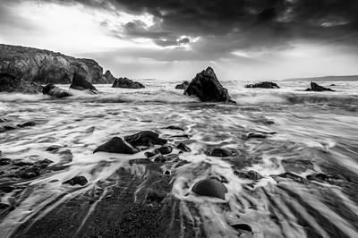 Photograph - Seaside B/w  by Michael Damiani