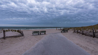 Photograph - Seaside Nj Ocean View  by Terry DeLuco