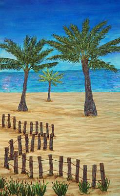 Seaside Oasis Art Print