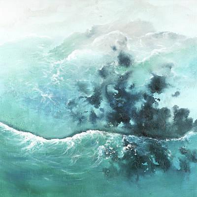 Caribbean Sea Painting - Seaside Of The Caribbean by Atelier B Art Studio