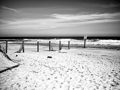 Photograph - Seaside Park Empty Dune by John Rizzuto