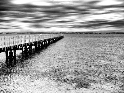 Photograph - Seaside Park Pier by John Rizzuto