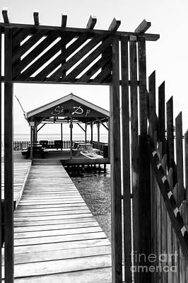 Photograph - Seaside Pavilion by Lawrence Burry