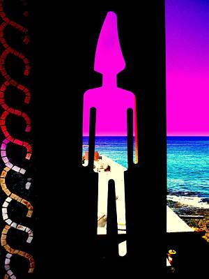 Seaside Phoenician  Art Print by Funkpix Photo Hunter