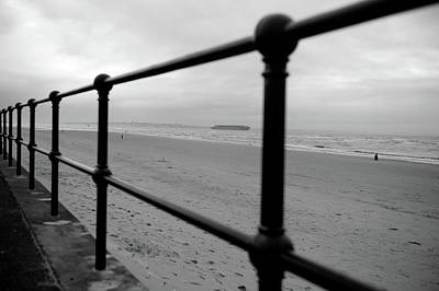 Photograph - Seaside Railings by Helen Northcott
