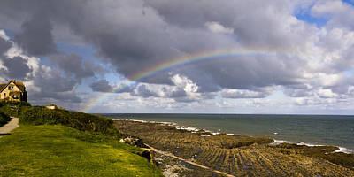 Seaside Rainbow Art Print