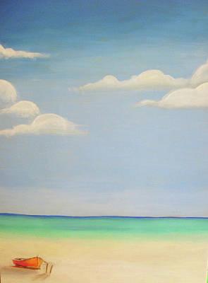 Painting - Seaside by Sarah LaRose Kane