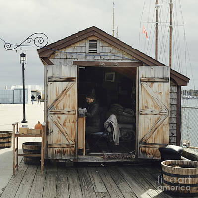 Seaside Shack - Portland, Maine Art Print by Jason Freedman