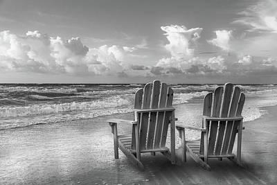 Photograph - Seaside Silver At Dawn by Debra and Dave Vanderlaan